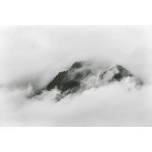 Facemount Metal - Cloudy Summit UV Printed on Metal