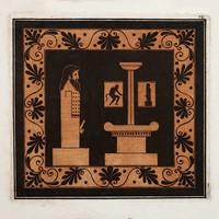 Print on Paper US250 - Ithyphallic Hermes Doric Column