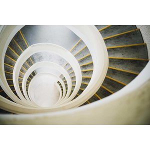 Print on Paper US250 - Circular Stairs