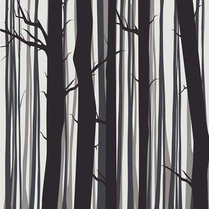 Print on Paper US250 - The Trees From The Forrest by Alejandro Franseschini