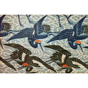 Print on Paper US250 - Japanese Cranes