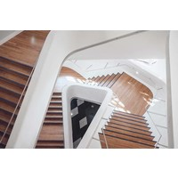 Facemount Acrylic - Stylish Stairs 1/4 Inch Thick Acrylic Glass