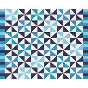Print on Paper US250 - Blue Pattern