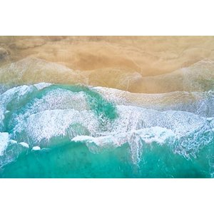 Print on Paper US250 - Tahiti Beach by J. Goerend