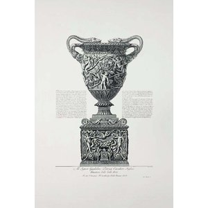 Print on Paper US250 - Piranesi Urn Dedicated to Sir William Patoun