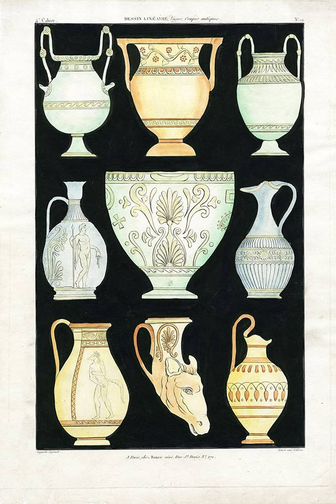 Ancient Greek Vases And Urns Series 1 The Picturalist