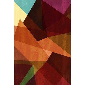 Print on Paper US250 - Cristalline I by Alejandro Franseschini