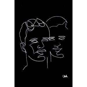 Print on Paper US250 - Couple by Camille Delor