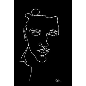 Print on Paper US250 - Portrait of a Young Man by Camille Delor