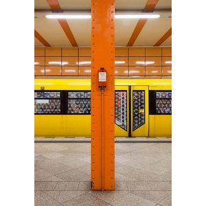 Print on Paper US250 - U-Bahn 4 by Wassily Kazimirski