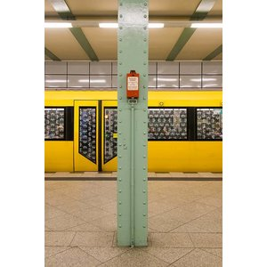 Print on Paper US250 - U-Bahn 3 by Wassily Kazimirski