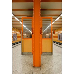 Print on Paper US250 - U-Bahn 2 by Wassily Kazimirski