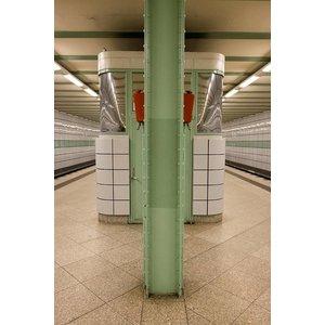 Print on Paper US250 - U-Bahn 1 by Wassily Kazimirski