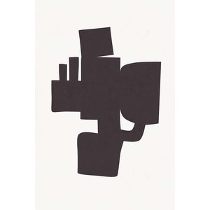 Print on Paper US250 - Modernist Shapes 1 by Alejandro Franseschini