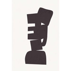 Print on Paper US250 - Modernist Shapes 2 by Alejandro Franseschini
