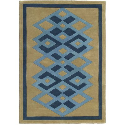 Hand Knotted 50% Silk 50% NZ Wool Entrelac Silk and Wool Rug Collection