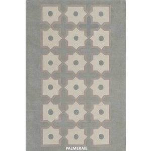 Hand Knotted 50% Silk 50% NZ Wool Moucharabieh Rug Collection