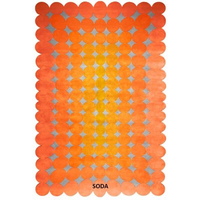 Hand Knotted 50% Silk 50% NZ Wool Bubbles Rug Collection