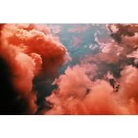 Facemount Metal - Soft Clouds UV Printed on Metal