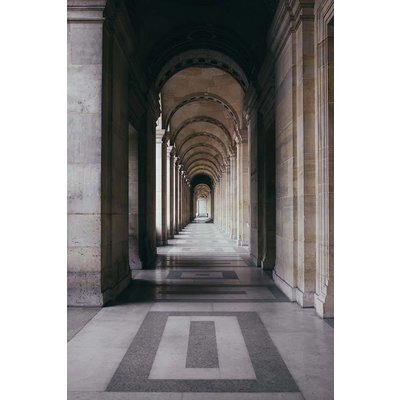 Print on Paper US250 - The Louvre Perspective by A. Holyake