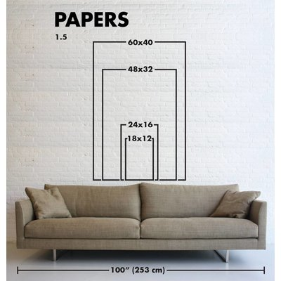 Print on Paper US250 - Perspective in White by R. Schreiner