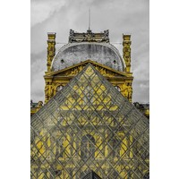 Facemount Acrylic - The Louvre 1/4 Inch Thick Acrylic Glass