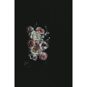 Print on Paper US250 - Roses Print on Archival Paper