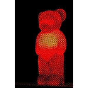 Print on Paper US250 - Red Bear Print on Archival Paper