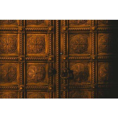 Print on Paper US250 - Brass Doors by K. Illina Print on Archival Paper