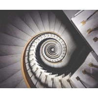 Print on Paper US250 - Stairway by L. Lorenz