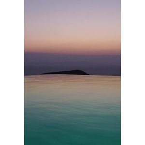 Print on Paper US250 - Horizon Rose et Turquoise