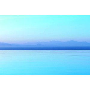 Print on Paper US250 - Aqua and Blue Seascape