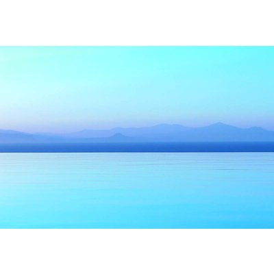 Print on Paper US250 - Aqua and Blue Seascape by Eric Gizard