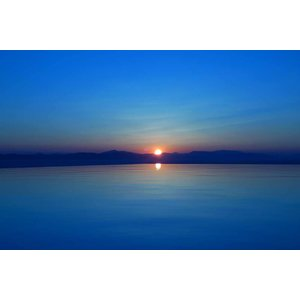 Print on Paper US250 - Royal Blue Sunset