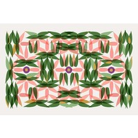 Facemount Acrylic - Kaleidoscope in Pink 1/4 Inch Thick Acrylic Glass