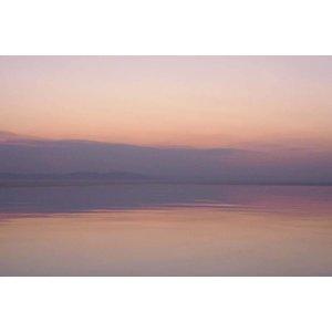 Facemount Metal - Pink Dawn by Eric Gizard UV Printed on Metal