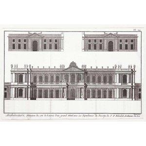 Print on Paper US250 - Élévation du Grand Hôtel de Paris