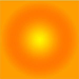 Facemount Acrylic - Yellow Halo