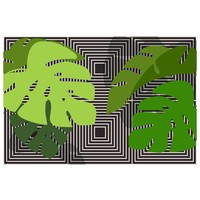 Print on Paper US250 - Tropical Leaves 1 by Alejandro Franseschini