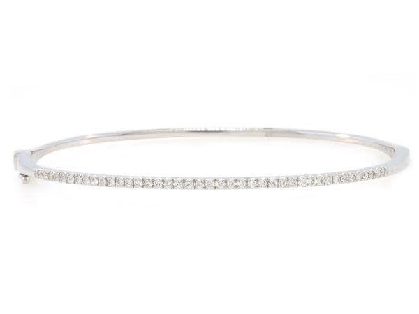 Luvente Hinged Diamond Bracelet