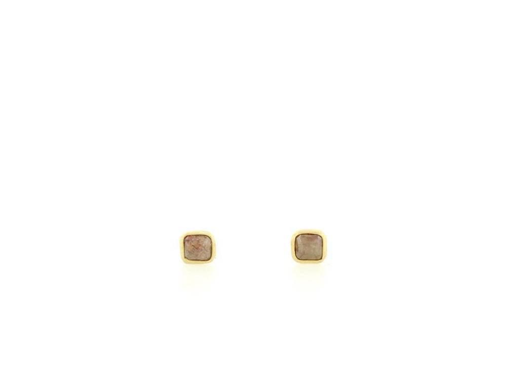 Kothari Rustic Diamond Stud Earrings