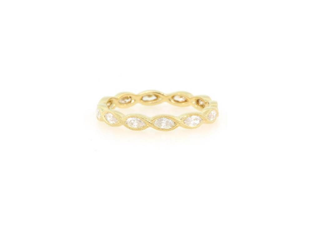 Beverley K Collection Marquise Diamond Eternity Band