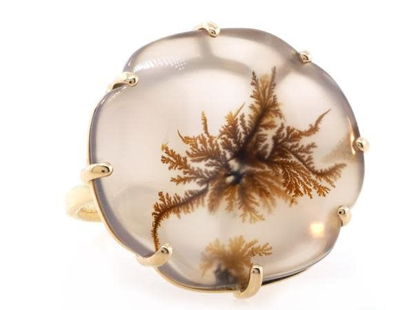 Jamie Joseph Jewelry Designs Dendritic Agate Statement Ring
