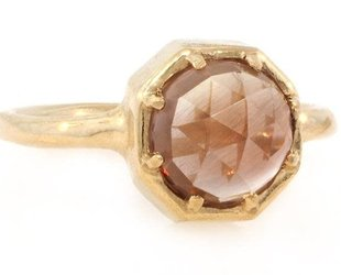 Lauren Wolf Sunstone Octagon Ring LW1