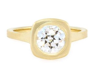 Erika Winters 1.51ct JVS2 Old European Dia Jin Ring EW16