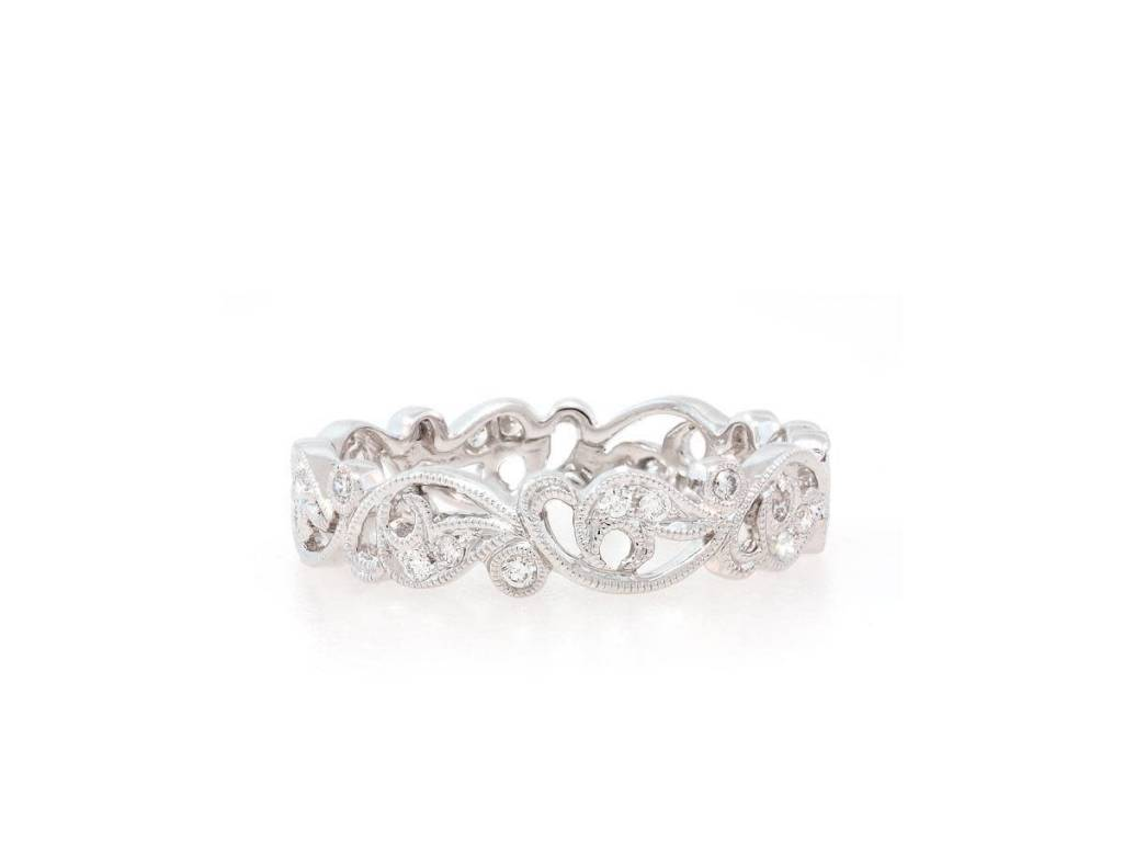 Beverley K Collection Diamond Vine Band