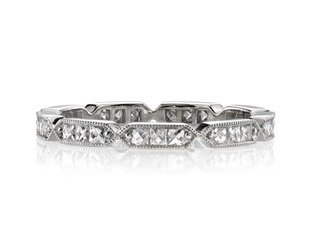 Single Stone A/Inspired French Cut Dia Eternity Band SI102