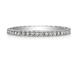 Single Stone Molly Old European Cut Dia Eternity Band