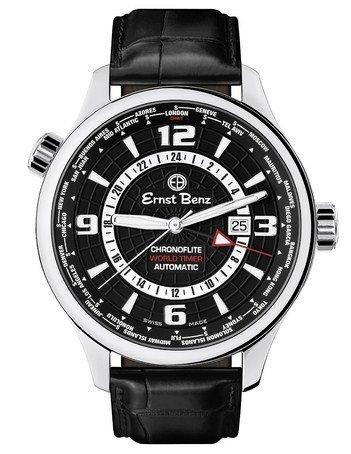 Ernst Benz USA Ernst Benz Flite World Timer 47mm Watch