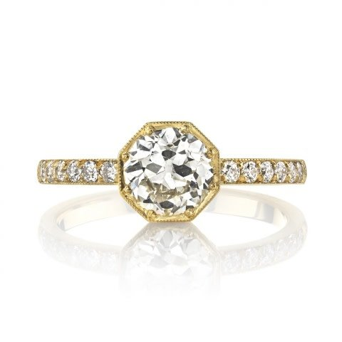 Single Stone Emerson Old European Diamond Ring